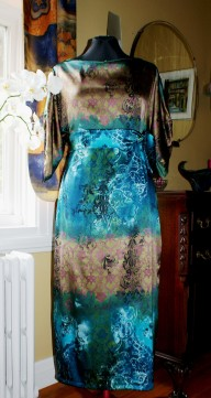 "Robe en soie style ""Dowton Abbey""!"