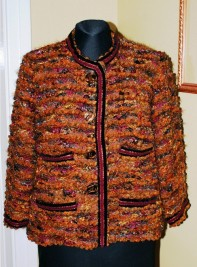 Veste Channel en tricot Missoni
