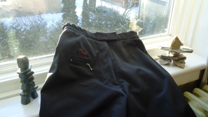 Pantalons d'hiver extérieur - détail