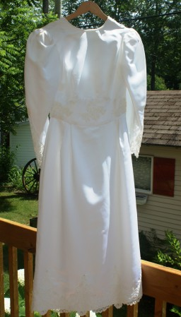 Petite robe de mariée