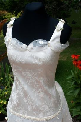 Robe de mariée - détail