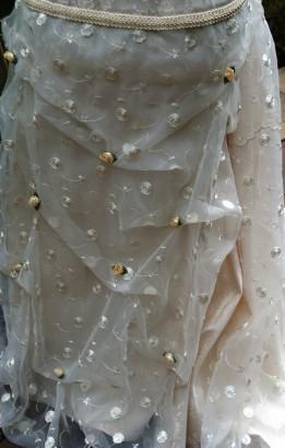Robe de mariée - détail de jupe
